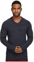 Original Penguin Saddle Raglan Donegal V-Neck Sweater Men's Sweater