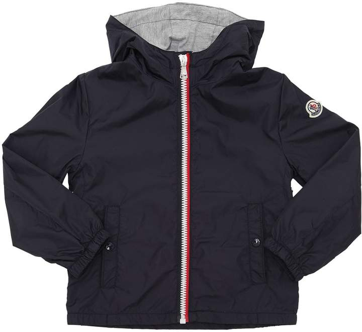 New Urville Hooded Nylon Jacket