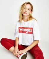 Wrangler Boyfriend Crop T-Shirt White