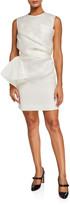 Nina Ricci Organza Crewneck Dress