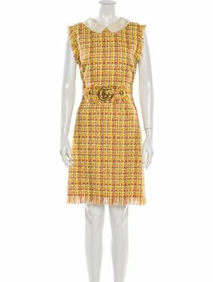 Gucci 2018 Mini Dress w/ Tags Yellow