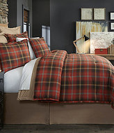 Daniel Cremieux Ellison Plaid Flannel Comforter Mini Set