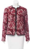 Piazza Sempione Wool-Blend Matelassé Jacket w/ Tags