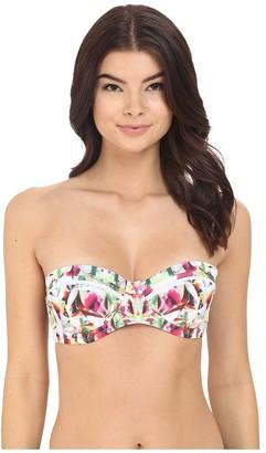 6 Shore Road by Pooja Women's Chloe Lightly Lined Underwire Bikini Top