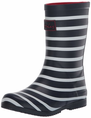 Joules Kids' Roll Up Welly Rain Boot
