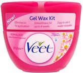 Veet Gel Wax Kit Normal Skin Lotus Flower Fragrance 250ml