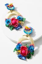 Ranjana Khan Vibrant Flower Drop Earrings