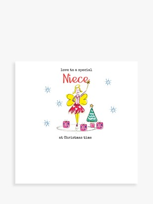 Laura Sherratt Designs Fairy Niece Christmas Card