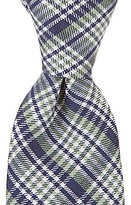 "Class Club 50"" Mini Plaid Tie"