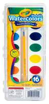 Crayola ; Watercolor Paints with Brush Washable 16ct