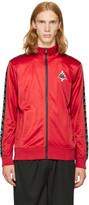 Marcelo Burlon County of Milan Red Kappa Edition Track Jacket