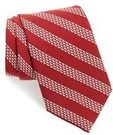 Vineyard Vines Men's Whale Stripe Silk Tie