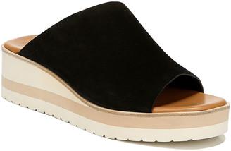 Vince Sarria Suede Platform Slide Sandals