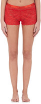 Cosabella WOMEN'S FETHERSTON SATIN-TRIMMED LACE BOXER SHORTS
