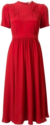 No.21 Bustier Style Midi-Dress