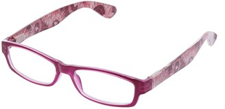 Peepers Women's Flashback - Pink/tie-dye 2500300 Rectangular Reading Glasses