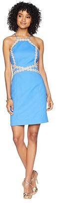 Lilly Pulitzer Pearl Shift Dress (Bennet Blue) Women's Dress