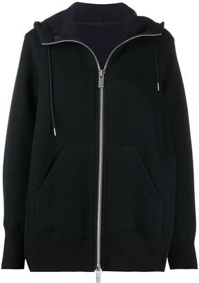 Sacai Zipped Hooded Jacket