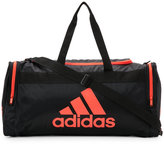 adidas Black & Neon Orange Santiago Medium Duffel