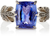 Cathy Waterman Women's Tanzanite Leafside Ring