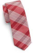 Original Penguin Upshall Silk & Cotton Tie