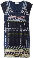 Peter Pilotto ottoman knitted gilet - women - Polyamide/Spandex/Elastane/Angora/Wool - S