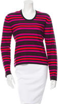 Sonia Rykiel Striped Cashmere & Wool-Blend Top