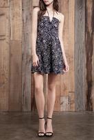 J.o.a. Floral Halter Dress