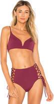 SKYE & staghorn V Wire Bikini Top