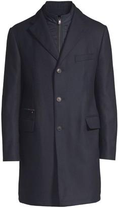 Corneliani Wool Overcoat