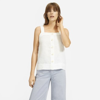 Everlane The Linen Picnic Top