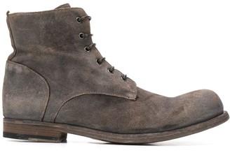 Officine Creative Bubble lace-up ankle boots