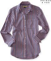 Prince & Fox Long Sleeve Gingham Woven Shirt