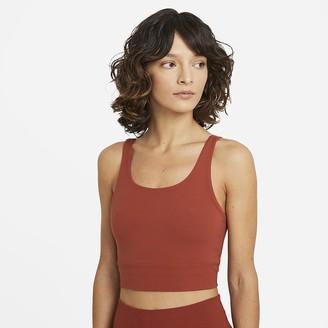 Nike Women's Infinalon Crop Top Yoga Luxe