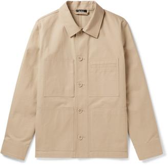 A.P.C. Andre Cotton-Canvas Jacket
