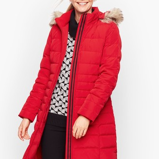 Talbots Long Down Puffer Coat