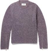 Maison Margiela Mélange Cotton-Blend Sweater