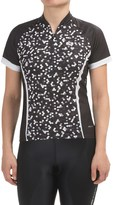 Sugoi Dot Cycling Jersey - UPF 20, Zip Neck, Short Sleeve (For Women)