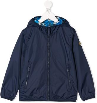 Ciesse Piumini Junior Reversible Camouflage Raincoat