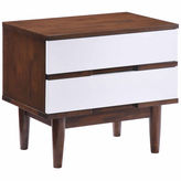 Zuo Modern La 2-Drawer Nightstand