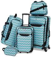 Tag Tag Springfield III Printed 5-Pc. Luggage Set, Created for Macy's