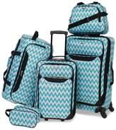 Tag Tag Springfield III Printed 5-Pc. Luggage Set