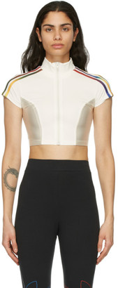 adidas White Paolina Russo Edition Crop Top