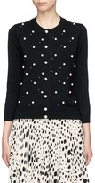 Marc Jacobs Glass pearl and stud embellished cardigan