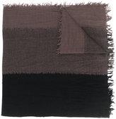 Yohji Yamamoto frayed scarf