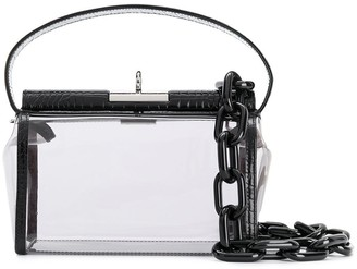 Gu_de Water crocodile-effect crossbody bag