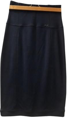 Liu Jo Liu.jo Navy Wool Skirt for Women