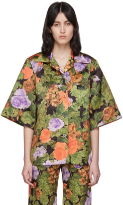 Richard Quinn Brown Hawaii Shirt