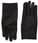 Black Brown 1826 Faux Fur Lined Tech Compatible Gloves