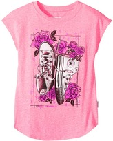 Converse Chucks N Roses Tee Girl's T Shirt